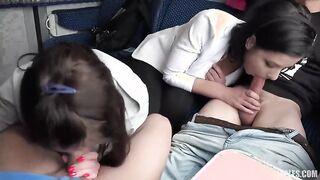Die Jugend trübte den Vierer mit einem Frauentausch, um sich im Zug nicht zu langweilen