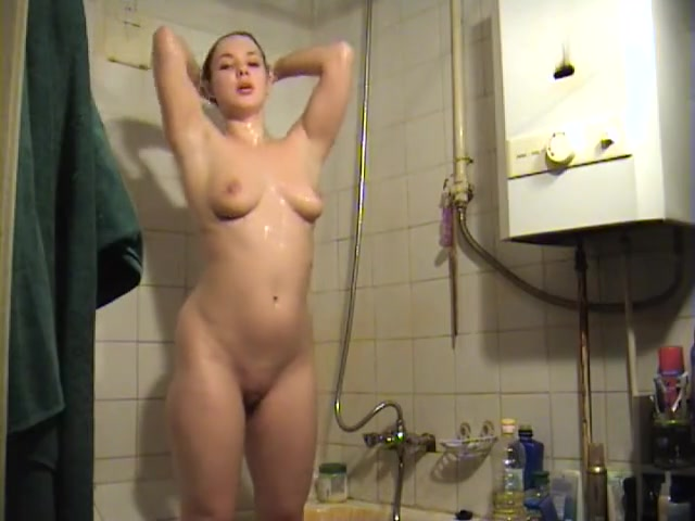 Schwester erwischte die Dusche