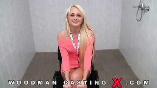 Die Ukrainerin Ivana Sugar beim Woodman-Casting