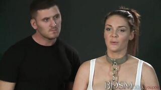 BDSM-Meister gefickt gebundene Silikonschlampen