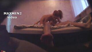 Sex mit einer Schulterprostituierten Julia in einem Motel am Straßenrand mit versteckter Kamera