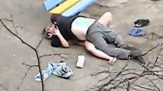 Verdammte Betrunkene auf der Straße