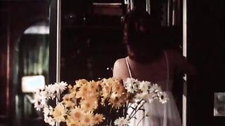 Voller Retro-Pornofilm, der in den 80ern gedreht wurde